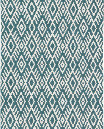 Louis De Poortere teppich Romo CA 8744 Nahli Kingfisher