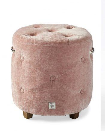 Riviera Maison hocker Bowery Pink 3941008 1