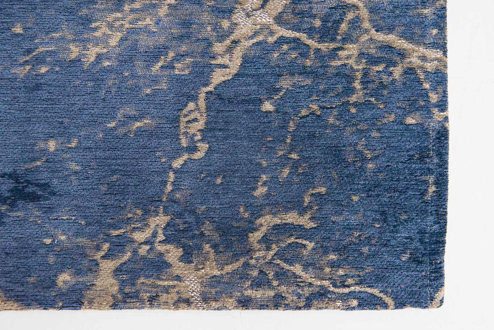 teppich Louis De Poortere LX8629 Mad Men Cracks Abyss Blue zoom 3